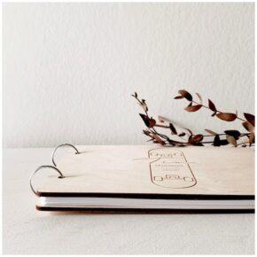 houten gastenboek, gastenboek bruiloft, gastenboek huwelijk, gastenboek geboorte